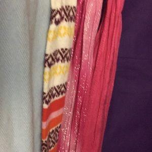 All 4 scarfs as one